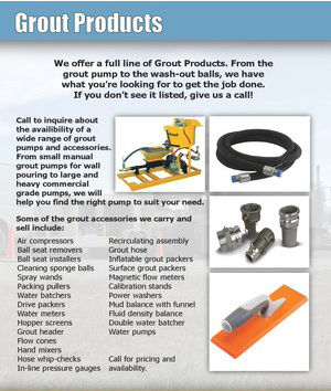 Grout Products